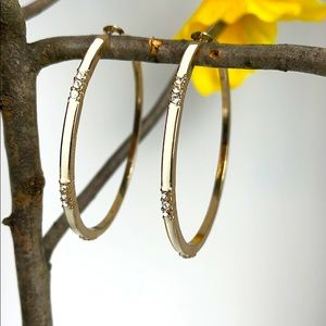 ⚜️Je❤️Vintage ⚜️ round earrings with rhinestone